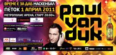 Billboard for Paul van Dyk (2011)