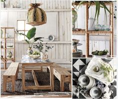 Love the casual, relaxed atmosphere, the warm textures and fresh prints - Anthropologie Catalog: March 2014 Home Lookbook