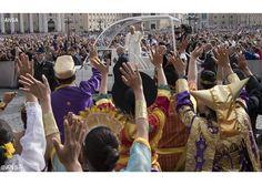 """""""Dejémonos llenar el corazón con la divina misericordia"""", el Papa en la catequesis - Radio Vaticano"""