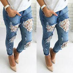 0d6c99842 Imagem relacionada Custumizar Calça Jeans, Roupas Jeans, Customização De Calça  Jeans, Saias Jeans