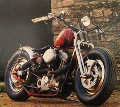 Bobber Inspiration | Harley evo bobber | Bobbers and Custom Motorcycles