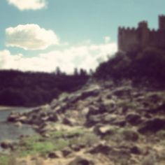 Clouds of love, castles of fear! | Castel of Almourol, Portugal