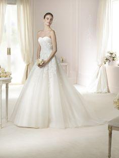 Brautkleid Toscana aus der White One Brautmoden Kollektion 2015 :: bridal dress from the 2015 collection by white one.