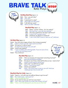 This role play activity helps if bullying is taking place in the classroom - 9761