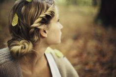 cute fall hairstyle