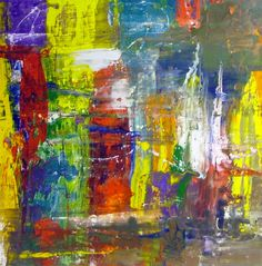 modern paintings | Modern art canvas painting called Carnival by Swarez the artist