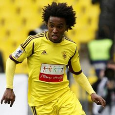 Willian [Borges da Silva]--- Anzhi Makhachkala. Liverpool, Chelsea and Man City target Willian this period!!Willian is set to join CHELSEA.