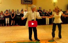 I Love Watching This Older Couple Dance, You Will Too!