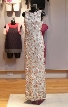 Christies Displays 20th Century Couture Dresses - Cristobal Balenciaga (Paris, early 1960's)