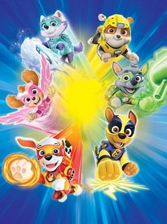 Paw Patrol: Mighty Pups poster, t-shirt, mouse pad Paw Patrol Pups, Paw Patrol Party, Paw Patrol Birthday, Baby Birthday, Paw Patrol Skye, Imprimibles Paw Patrol, Paw Patrol Stickers, Cumple Paw Patrol, Paw Patrol Coloring Pages