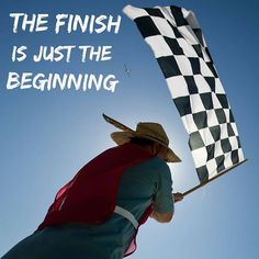 The Finish is just the Beginning  When Jesus had tasted it he said It is finished! Then he bowed his head and gave up his spirit. John 19:30 NLT  The Mission was Finished but it was and is the Beginning of New Life.  When the driver gets the checkered flag or runner crosses the finish line it is just the beginning. The same is true for us.  It is celebrating what has been accomplished like we will do this Easter weekend.  It is learning from what was accomplished. It is taking what we have learned and developed into the next goal and challenge. Taking the power God gives us to Live an Abundant Life.  #itisfinished #justthebeginning #thefinishisjustthebeginning #keepfighting #fightingcouplesclub #fightforit #fightforyou #fightformarriage #fightforfamily #fightforothers #youversion #bibleapp