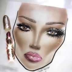 Facechart created by @cagla_yetiser ✨ Tag Us #FaceCharts @FaceCharts to be Featured ✨  ____________________________________________   #MakeupTalk #amazing #makeup #facecharts #facechart #mua #makeupartist #yellow #mua #mac #macmakeup #darklipstick #makeuptutorial #myfacechartcommunity #MOTD #macgirls #macboys #trendy #trend #macpro #draw #maccosmetics #makeuptime #macbrushes
