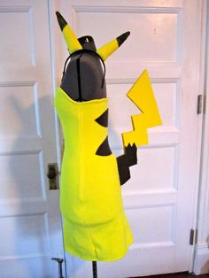 Halloween Pikachu costume- maybe I'll make the headband