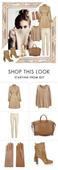 """10 November 2015."" by lara-isa ❤ liked on Polyvore featuring City Chic, The Row, Givenchy, Causse, Michael Kors and Burberry"
