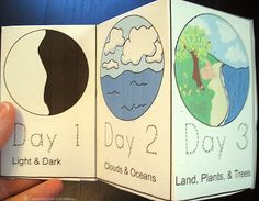 For our first week this year we taught the story of creation.  I used the order of teaching Bible that I had shared in the previous post, Te...