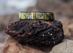 Black & Green Marble Brocelet Unisex Wrap Bracelet