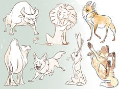 animal sketches by scrii