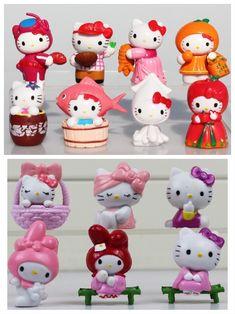 "Sanrio Miniature Snow Globe Hello Kitty Friend My Melody Bunny 2 3//4/"" NEW"
