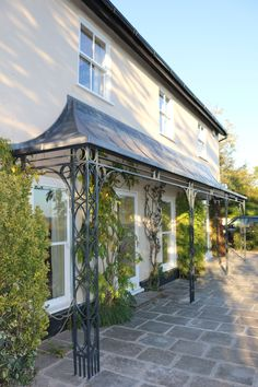 We have been increasingly busy making more and more canopy and porch structures. Porch Canopy, Garden Canopy, Door Canopy, Glass Porch, Pergola With Roof, Gazebo, Digimon, Cottage Garden Design, Canopy Design