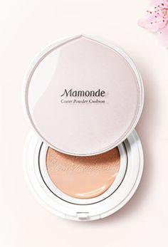 MAMONDE Cover Powder Cushion SPF50+ PA+++ 15g + Refill 15g #Mamonde