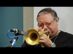"""Arturo Sandoval """"There Will Never Be Another You"""". He's one of the performers at the 2012 River Raisin Jazz Festival."""
