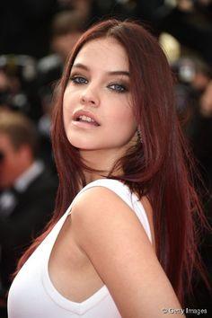 Barbara palvin red hair