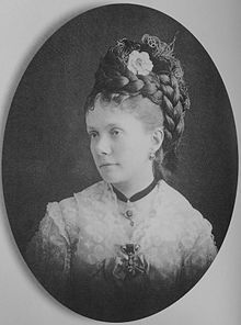 The Infanta Isabel of the Spains (1851-1931), The Princess of Asturias (1851-1857, 1875-1880) in her own right. She was a daughter of The Infante Francisco of the Spains The Duke of Cádiz and his wife, Queen Isabel II. She was The Countess of Girgenti (1868-1871) as the wife of The Prince Gaetano of Bourbon-Two Sicilies The Count of Girgenti. She had no children.