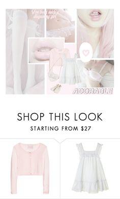 """""""可愛い"""" by bubblegumbae ❤ liked on Polyvore featuring Belle Fleur, Crumpet, Pink, doll, kawaii and babydoll"""
