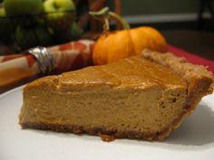 The Best Paleo Pumpkin Pie by @Sarah Ballantyne