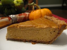 The Best Paleo Pumpkin Pie by @Sarah Ballantyne