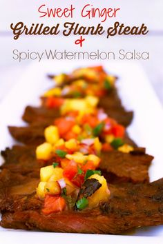 BBQ & Grilling Grub on Pinterest | Watermelon Salsa, Beer ...