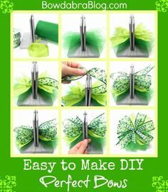Easy to Make DIY Perfect Bows