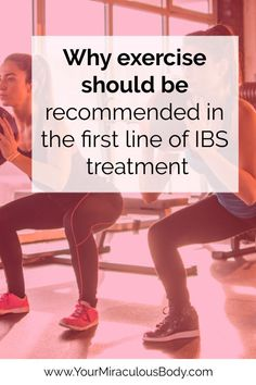 There are many ways that exercise reduces IBS symptoms. Clinical trials show improvements in quality of life and symptom relief, so much so that it should be recommended as the first line of treatment for IBS patients. Anxiety Relief, Stress And Anxiety, Stress Relief, Ibs C, Neck Yoga, Ibs Symptoms, Ibs Diet, Irritable Bowel Syndrome