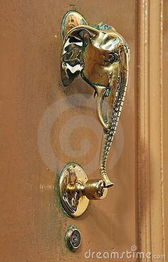 Elephant Head Door S And Knockers Handles Drawer