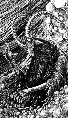 rebel lamb/ black sheep