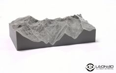 Replica de Sierra Nevada impresa en LEON3D (PLA GRIS)   #LEON3D #LIONPRO3D #educacion #innovacion #3dprinting #tecnologia #PLA