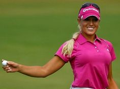 Natalie Gulbis talking of retiring. Really hate to see this happen. Natalie Gulbis, Sexy Golf, Lpga Golf, Cheap Golf Clubs, Golf 2, Golf Training Aids, Golf Exercises, Athletic Body, Female Athletes