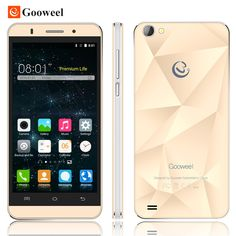 Mobile Phones  Original Gooweel M5 Pro mobile phone MTK6580 quad core 5 inch IPS screen smartphone 5MP/8MP camera GPS 3G cell phone Free Gift -- Click the VISIT button for detailed description on AliExpress website