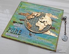 Inspiration and Imagination ~ Simon Says Stamp Monday Challenge created using Tim Holtz products