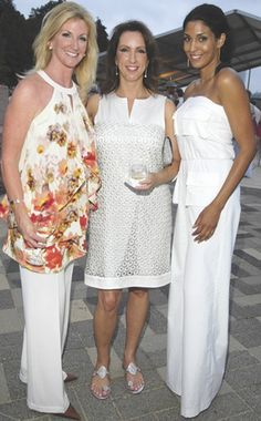Kim Moody, Alicia Smith and Ursaline Hamilton. Mrs. Hamilton is the former wife of MLB Network analyst Darryl Hamilton.
