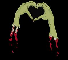 zombie happy valentines day