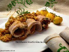 Arista di maiale al latte e rosmarino con patate   SICILIANI CREATIVI IN CUCINA  