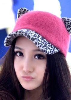 63a49ec7433 Cheap cat ear baseball cap