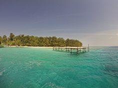 Leaving Menjangan Besar Island, Karimunjawa