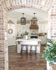 home decor kitchen Kitchen Remodel Design Projects Diy Kitchen Remodel, Home Decor Kitchen, Kitchen Ideas, Kitchen Inspiration, Kitchen Designs, Eclectic Kitchen, Kitchen Trends, Apartment Kitchen, Kitchen Furniture