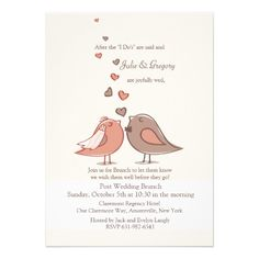 Mated Post Wedding Brunch Invitation Shoppingplease follow the link to see fully reviews...