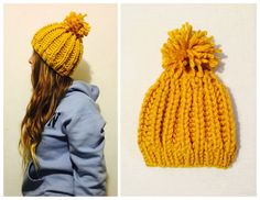 Love Crochet, Knit Crochet, Crochet Hats, Finger Knitting, Tatting, Knitted Hats, Diy And Crafts, Crochet Patterns, Beanie