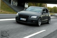 Audi Q5 on coilovers