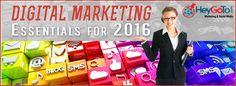 Digital Marketing Essentials for 2016
