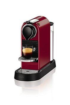 Krups Nespresso by KRUPS XN740540 Nespresso Citiz Coffee Machine, 1260 W - Cherry Red No description (Barcode EAN = 0010942220336). http://www.comparestoreprices.co.uk/december-2016-3/krups-nespresso-by-krups-xn740540-nespresso-citiz-coffee-machine-1260-w--cherry-red.asp